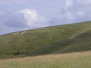 The Uffingham Horse, on the Berkshire Downs