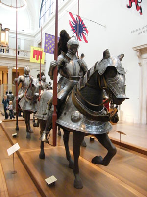 Armoury at the Metropolitan Museum of Art