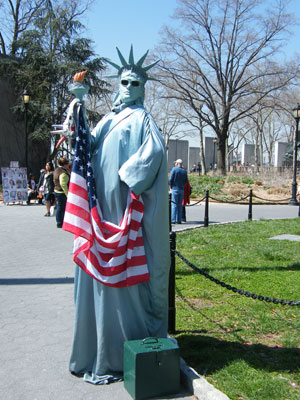 The 'Statue of Liberty'