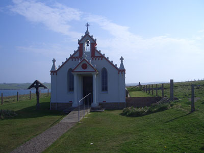 The Italian Chapel on Lamb Holm
