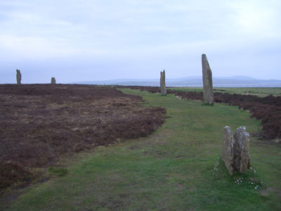 The Ring of Brogar on Orkney