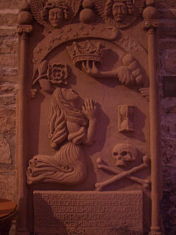 A cool tomb in St Magnus Cathedral