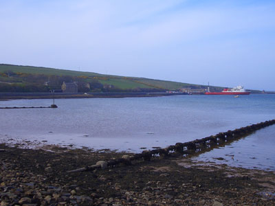 The harbour at St Margaret's Hope, Orkney
