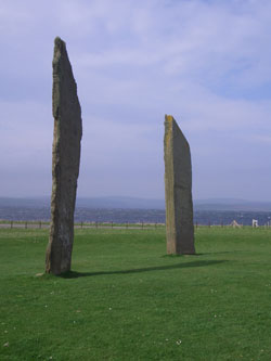 The Stones of Stenness on Orkney