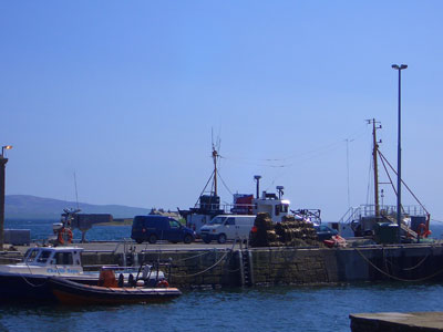 The harbour at Stromness