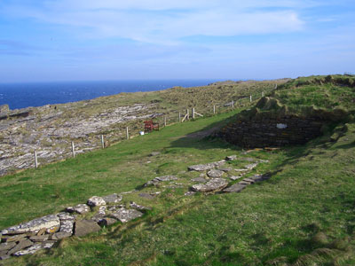 The Tomb of the Eagles on South Ronaldsay