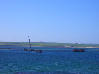 Wrecks in Scapa Flow