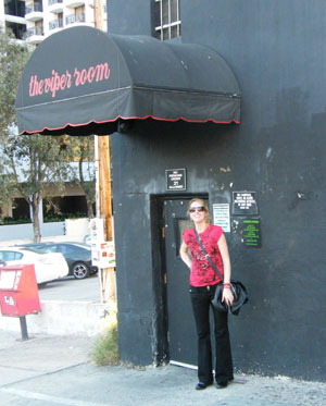 Me outside the Viper Room