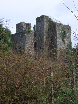 The ruin of Castle Kennedy