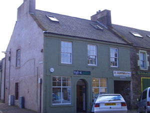 May Morrison's post office in Kirkcudbright