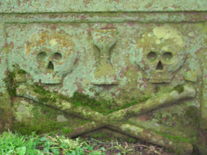 A cool tomb at Whithorn Priory