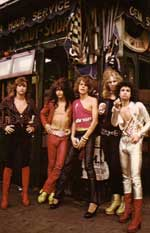 The New York Dolls back in days of yore